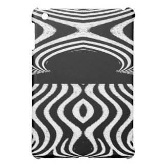 Abstract of Zebra Animal Design Cover For The iPad Mini