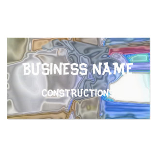 Abstract office pattern business card