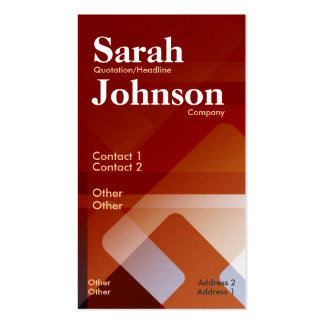 Abstract Office Vertical Business Card