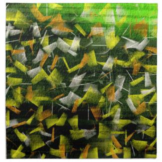 Abstract Oil & Acrylic Painting 2 Napkin