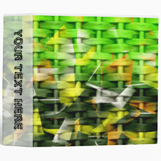Abstract Oil & Acrylic Painting 3 Ring Binder