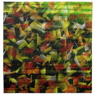 Abstract Oil & Acrylic Painting Napkin