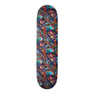 Oil painting skateboard decks zazzle for Best paint for skateboard decks