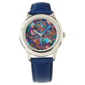 Abstract Oil Painting Inspired Watches