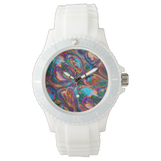 Abstract Oil Painting Inspired Wrist Watches