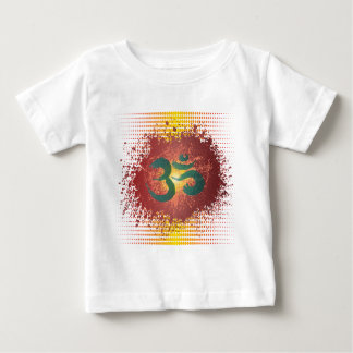 Abstract-Om 1 Baby T-Shirt