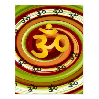 Abstract-om-5 Postcard