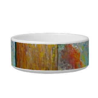 Abstract Opals Pet Bowls