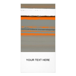 Abstract Orange 2 Photo Cards