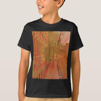 Abstract Orange Alternate Reality T-Shirt