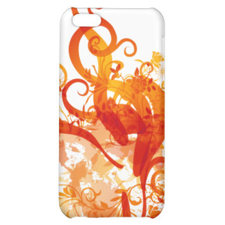 Abstract Orange IPhone Case iPhone 5C Cases