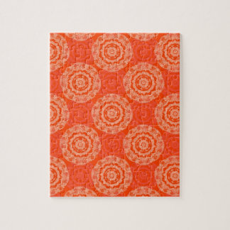 Abstract Orange Jigsaw Puzzle
