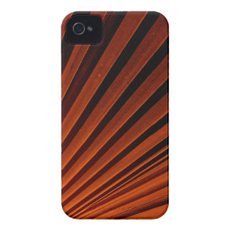 Abstract Orange Palm Frond Case-Mate iPhone 4 Case