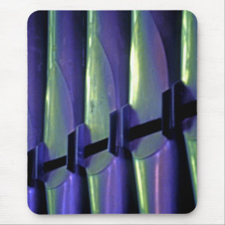 Abstract Organ Pipes Mouse Pad