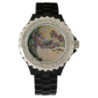Abstract Organic Art Wrist Watches
