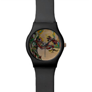 Abstract Organic Art Wristwatch
