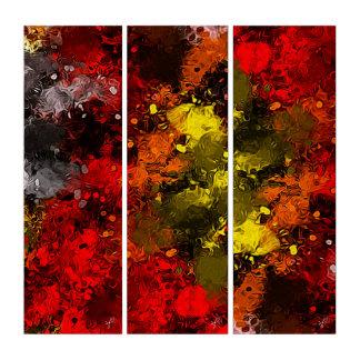 Abstract Original Art Autumn Riot of Color