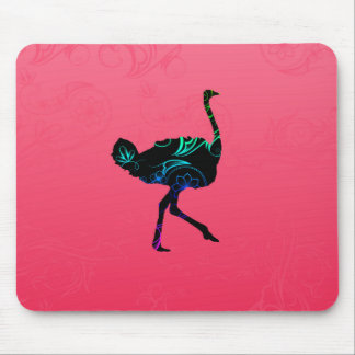 Abstract Ostrich  Mousepad