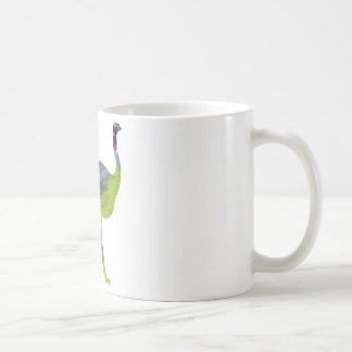 Abstract Ostrich silhouette Coffee Mug