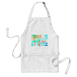 Abstract Outbreak Adult Apron