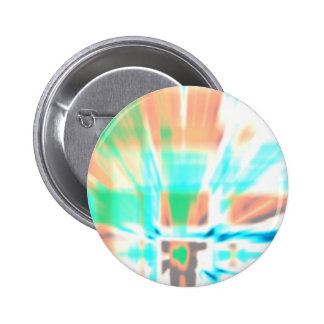 Abstract Outbreak Pinback Buttons