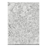 Abstract Outlines Poster