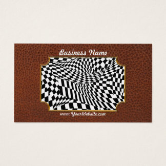 Abstract - Ow my eyes Business Card