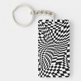 Abstract - Ow my eyes Keychain