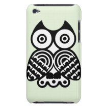 Abstract Owl Barely There iPod Cover