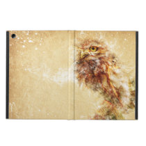 Abstract Owl Bird Design Case For iPad Air
