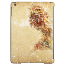 Abstract Owl Bird Design Cover For iPad Air