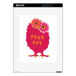 Abstract Owl Decals For iPad