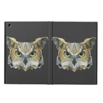 abstract owl iPad air cover