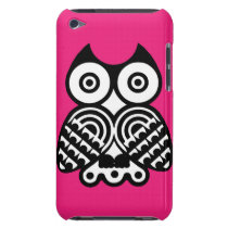 Abstract Owl iPod Case-Mate Case