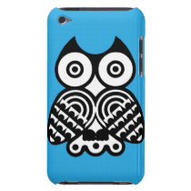 Abstract Owl iPod Touch Case