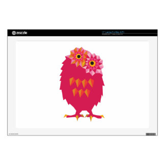 Abstract Owl Laptop Skin