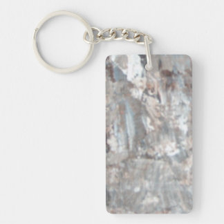 Abstract Pains Acrylic Keychain
