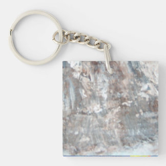 Abstract Pains Keychain