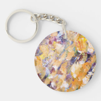 Abstract Pains Acrylic Keychains