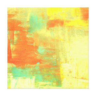 Abstract Paint Art Piece Canvas Print