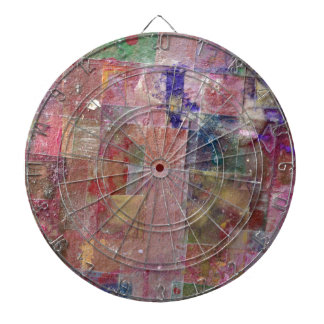abstract paint background dart boards