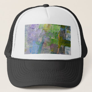 abstract paint background trucker hat