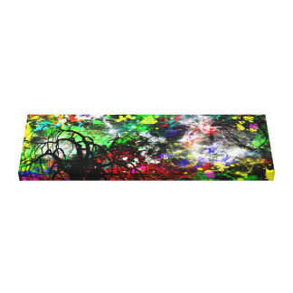 Abstract Paint Canvas Print