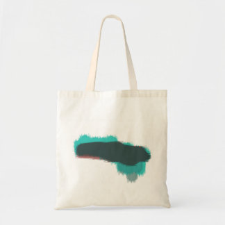 Abstract Paint Cloud Budget Tote Bag