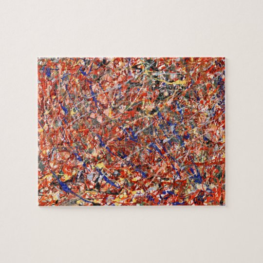 Abstract - Paint - Clown Suicide Jigsaw Puzzle
