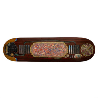 Abstract - Paint - Clown Suicide Skateboard Deck