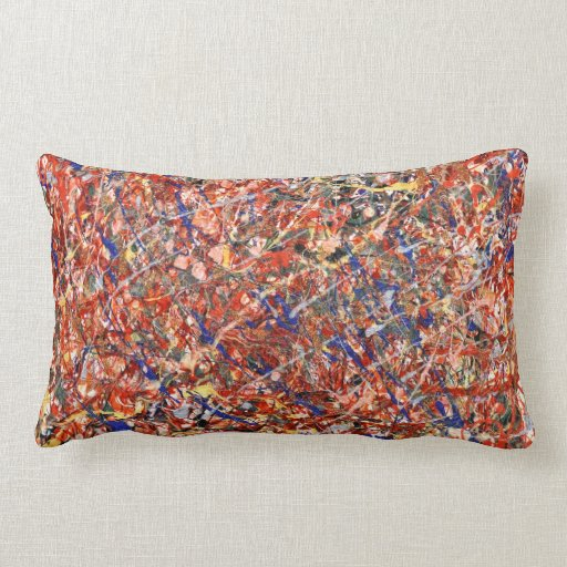 Abstract - Paint - Clown Suicide Throw Pillows