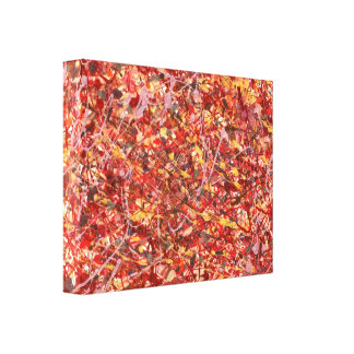 Abstract - Paint - Cosmetically speaking Stretched Canvas Prints