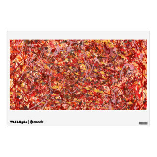 Abstract - Paint - Cosmetically speaking Room Decal