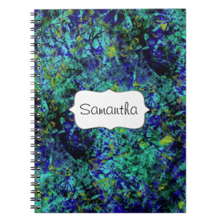 Abstract paint girls name journals